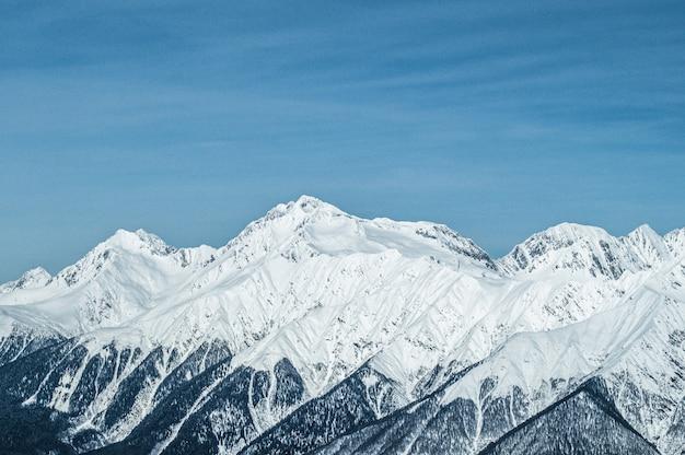Krasnaja polana góry