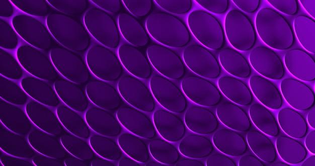 Krata 3d. streszczenie ściana z komórkami siatki. renderowania 3d