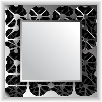 Krata wzór z kropkami. niekończąca się tekstura z geometrycznym wzorem. tło wektor 3d