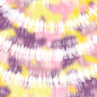 Krawat barwnik kolorowe białe tło akwarela.
