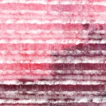 Krawat barwnik różowy czerwony biały tło akwarela.