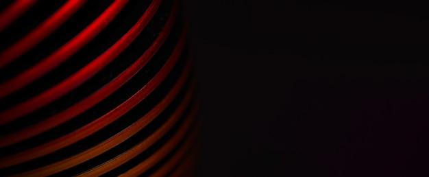 Kreatywna czerwona spirala, abstrakcyjny obraz tła