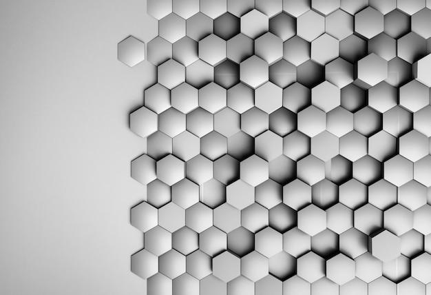 Kreatywna tapeta o geometrycznych kształtach