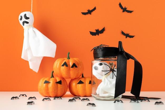 Kreatywne elementy halloween kreatywne