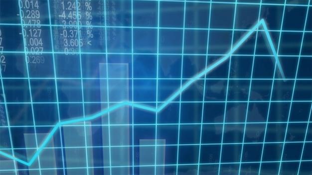 Kreatywny obraz koncepcji wzrostu gospodarczego