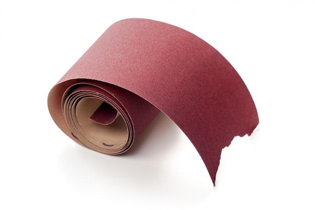 Kręcony papier ścierny
