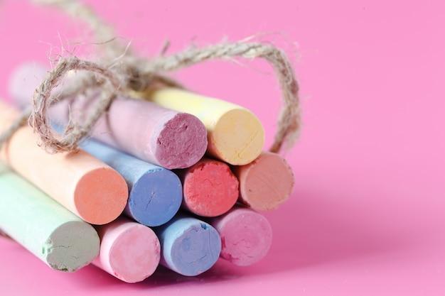 Kredka kredowa w kolorze różowym