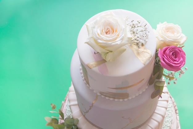 Kremówka tort weselny