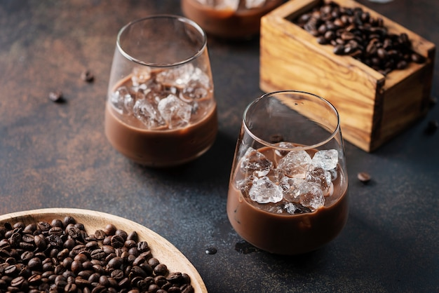 Kremowy ligueur z kawą