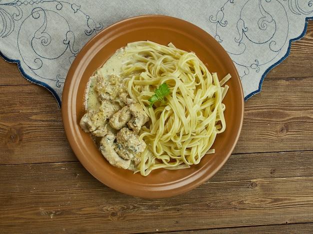 Kremowy makaron cajun linguine, idealny rodzinny posiłek?