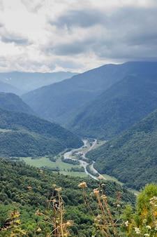 Kręta górska droga