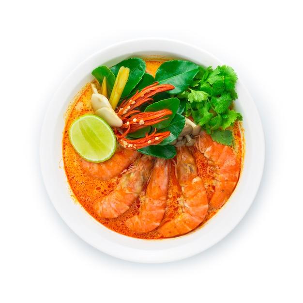 Krewetki z pikantną zupą (tom yum goong)