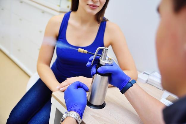 Krioterapia-leczenie przeziębieniem