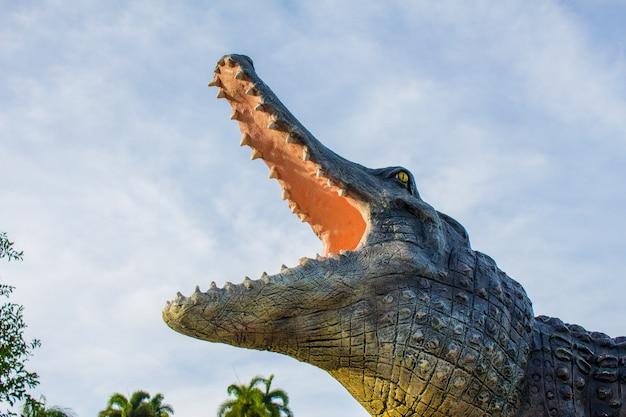 Krokodyl i niebo.