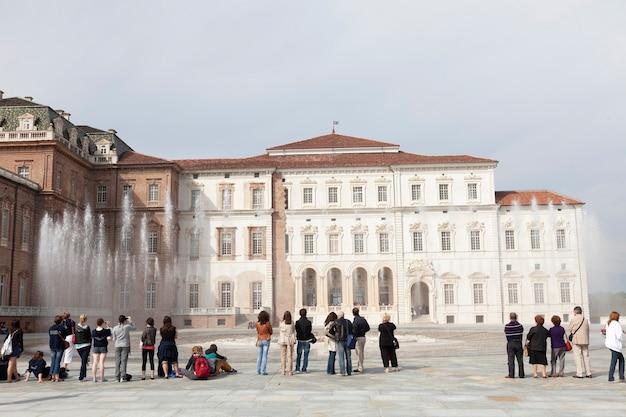 Królewska rezydencja sabaudii, venaria reale, turyn
