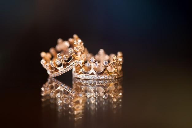 Królewskie obrączki ślubne