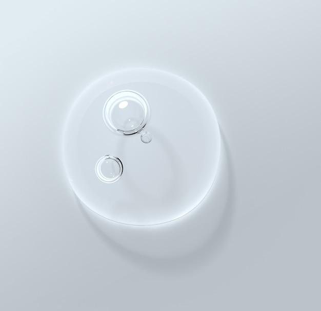 Kropla wody wyczyść krople serum upiększającego