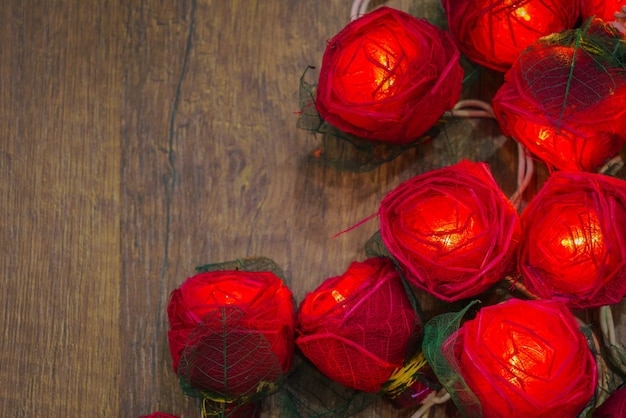 Krople miękkiej tekstury botaniczne valentine