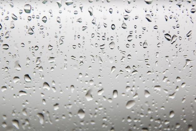 Krople wody na tekstury szkła