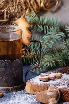 Kruche ciasteczka świąteczne na kubki