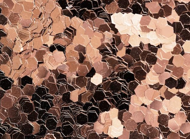 Kruszcowy cekin textured tło abstrakt
