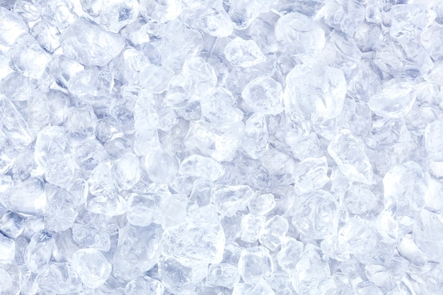 Kruszony lód lub tekstura