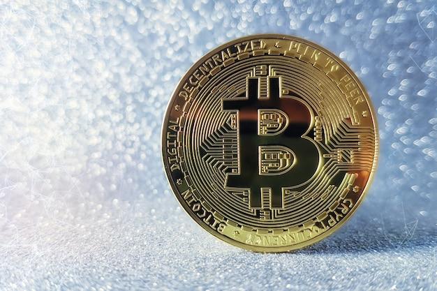 Kryptowaluta. wzrost akcji bitcoin. wykres pokazuje silny wzrost ceny bitcoina.