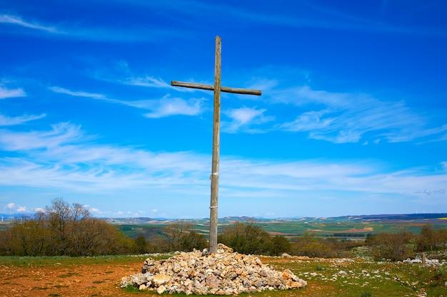 Krzyż cruz de atapuerca w saint james way