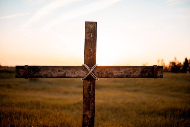 Krzyż na naturze