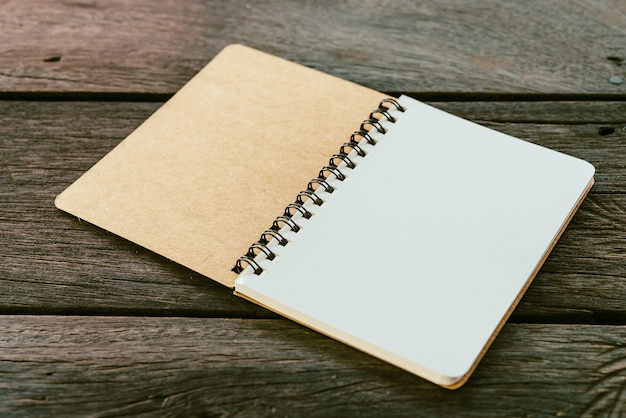 Książka pusta notatka