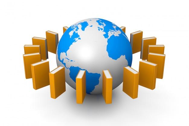 Książki na całym świecie