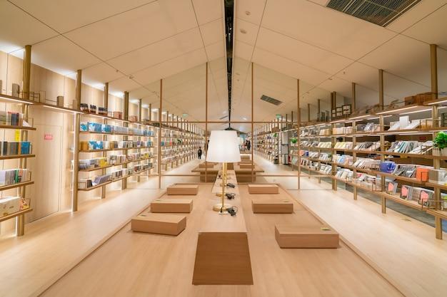 Księgarnia yanjiyou, life experience museum, to kreatywny sklep z doświadczeniami życiowymi o dużej wyobraźni i kreatywności, pokazujący siebie i osobowość.