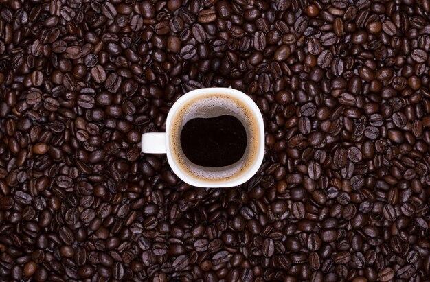 Kubek do kawy z ziaren kawy