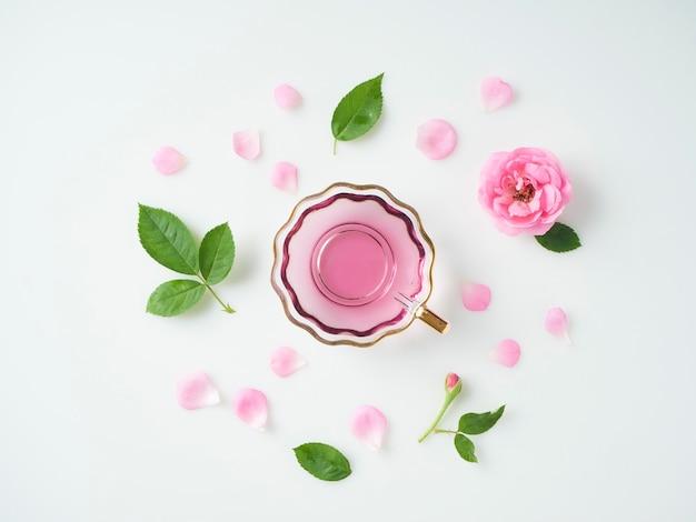 Kubek z olejkiem z róż