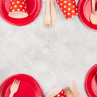 Kubki i talerze jednorazowe