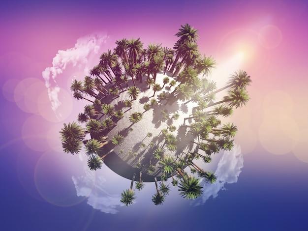 Kula drzewa palmowego