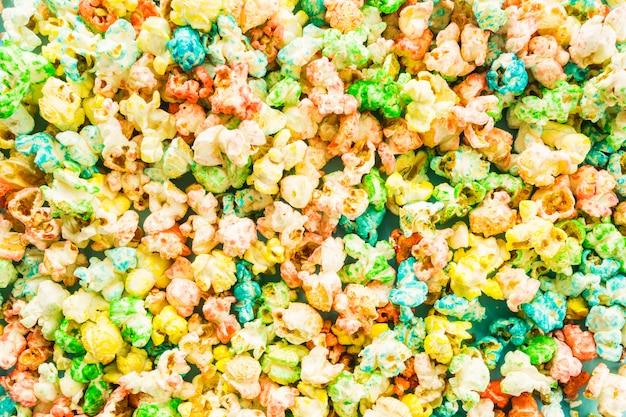 Kupa kolorowy popcorn