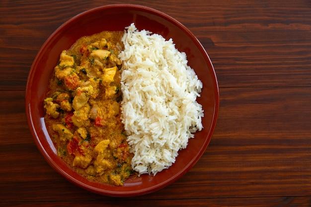 Kurczak curry danie indyjski przepis