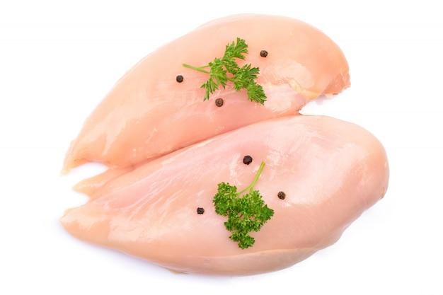Kurczaka mięso na bielu