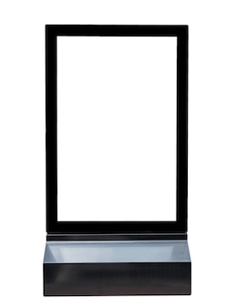 Kwadratowe czarne znaki kwadratowa reklama aluminiowa