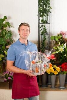 Kwiaciarnia w kwiaciarni