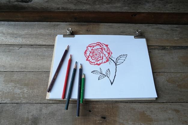 Kwiat róża bukiet