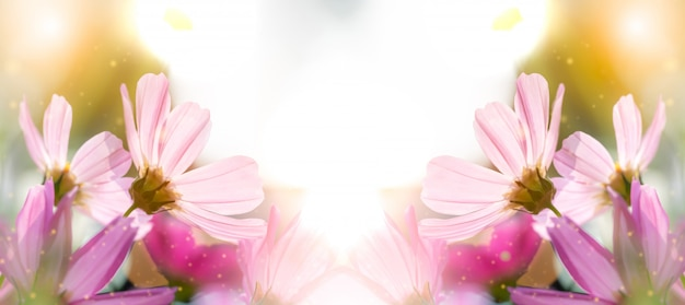 Kwiat to miłość par w walentynki