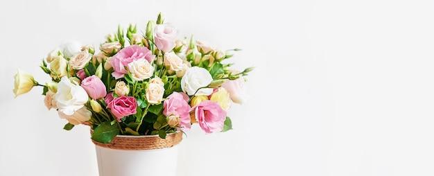 Kwiaty na dzień kobiet.