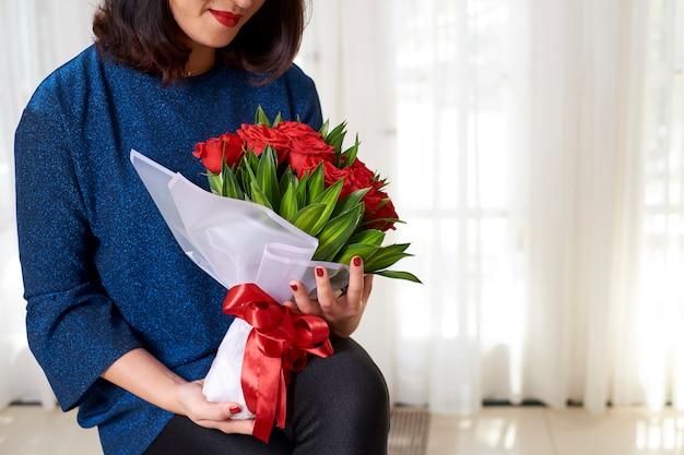 Kwiaty na wakacje kobiety