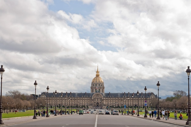 L'hotel national des invalides paryż