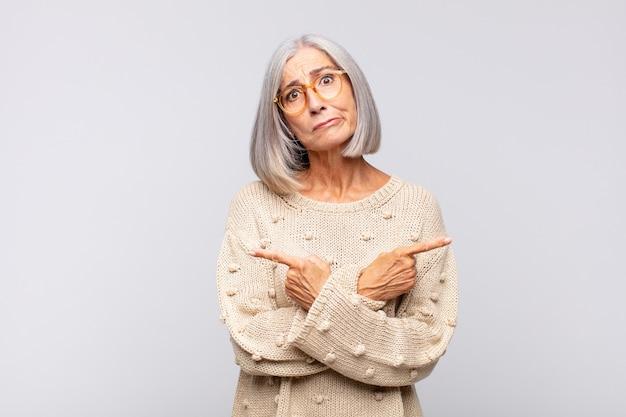 Ładna kobieta w średnim wieku