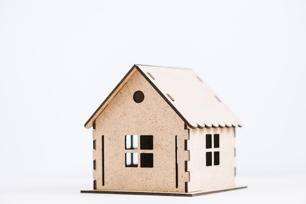 Ładny domek z zabawkami