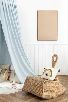 Ładny i jasny pokój zabaw dla dzieci