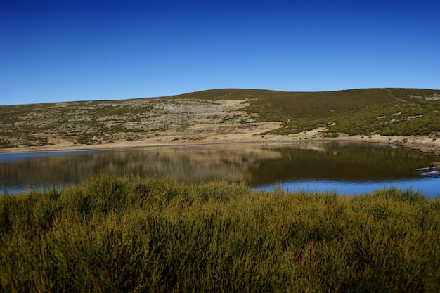 Laguna glaciar de los peces